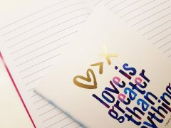Love is Greater - Notebooks