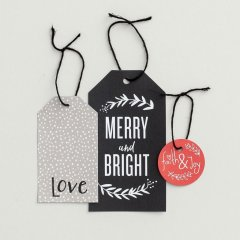 Gift tags - Christmas 18-pack