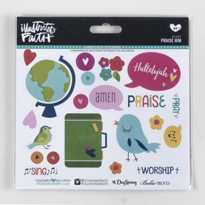 Stickers - Praise Him